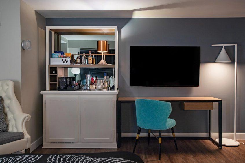 W Boston Luxury Hotel - Boston, MA, USA - Spectacular Guest Room Amenities