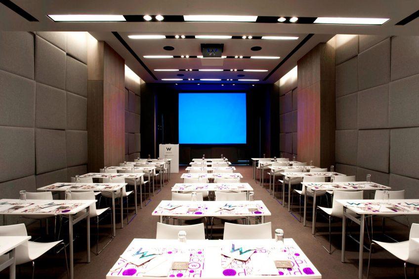W Istanbul Luxury Hotel - Istanbul, Turkey - W Istanbul Studios Meeting