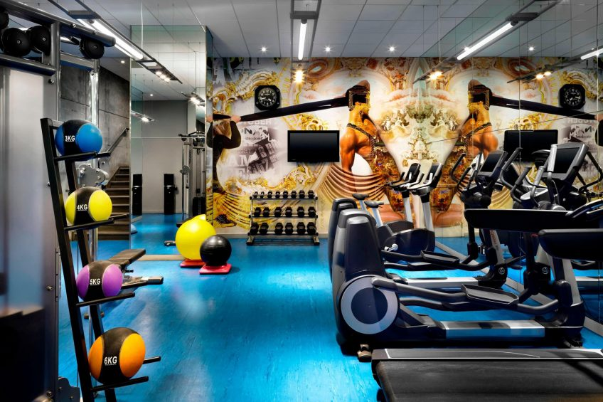W Montreal Luxury Hotel - Montreal, Quebec, Canada - Fitness Center Room