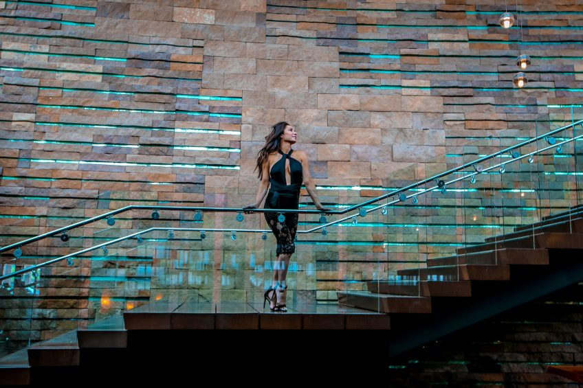 W Scottsdale Luxury Hotel - Scottsdale, AZ, USA - Grand Staircase
