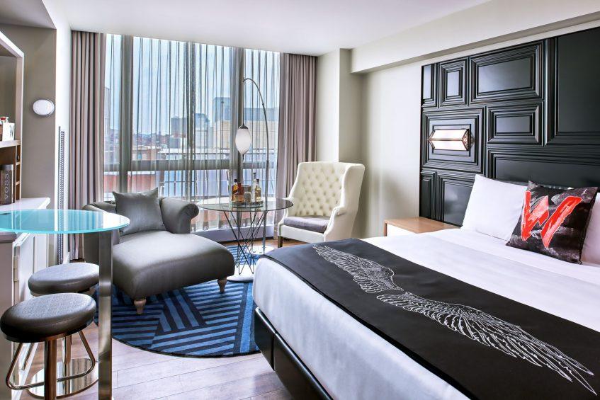 W Boston Luxury Hotel - Boston, MA, USA - Spectacular Guest Room Bed