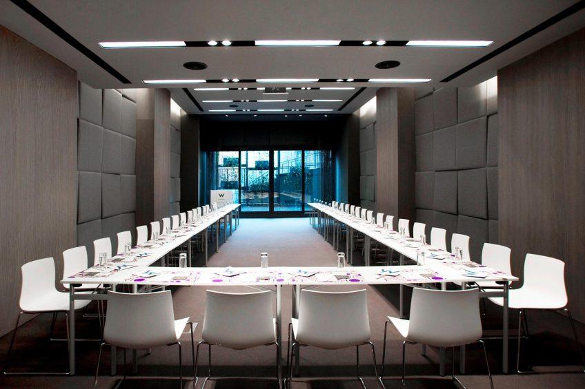 W Istanbul Luxury Hotel - Istanbul, Turkey - W Istanbul Studios U Shape Setup