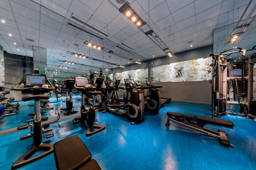 W Montreal Luxury Hotel - Montreal, Quebec, Canada - Fitness Center