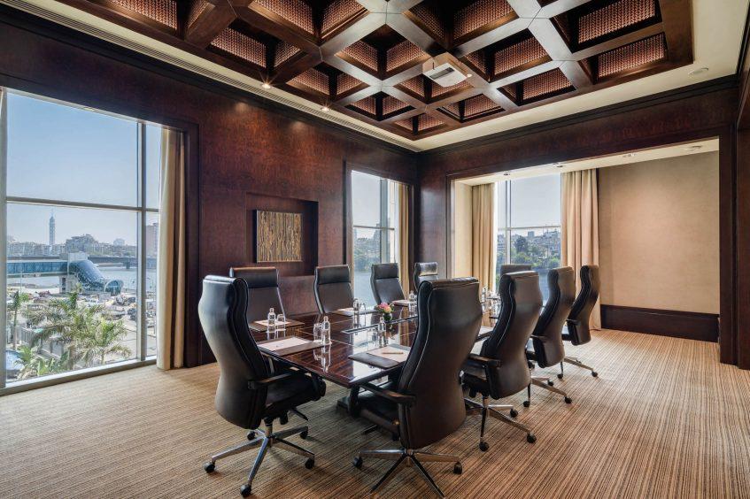The St. Regis Cairo Luxury Hotel - Cairo, Egypt - Roselite Boardroom