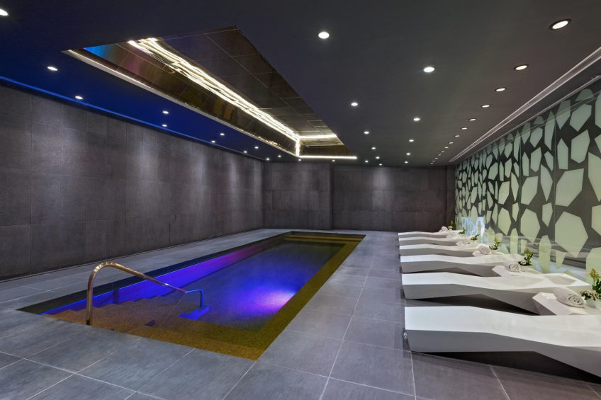 W Bogota Luxury Hotel - Bogota, Colombia - Hydrotherapy Pool at Away Spa