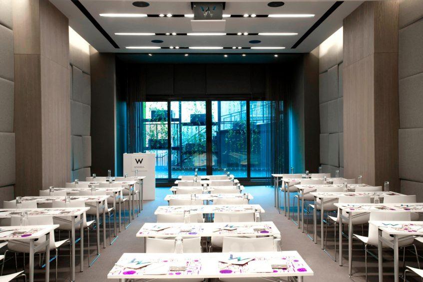 W Istanbul Luxury Hotel - Istanbul, Turkey - W Istanbul Studios Tables