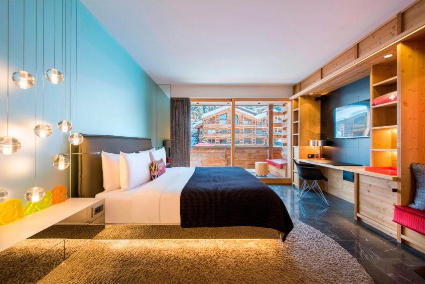 W Verbier Luxury Hotel - Verbier, Switzerland - Fabulous Guest Room Bed