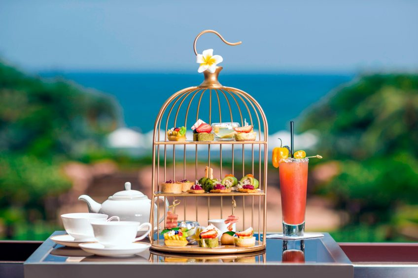The St. Regis Sanya Yalong Bay Luxury Resort - Hainan, China - Afternoon Tea