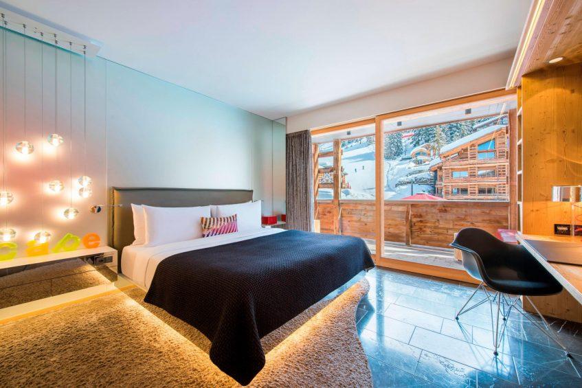 W Verbier Luxury Hotel - Verbier, Switzerland - Fabulous Guest Room