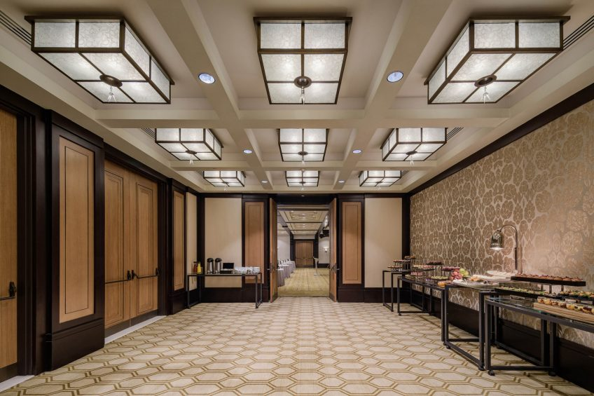 The St. Regis Cairo Luxury Hotel - Cairo, Egypt - Nile Amethyst Pre Function Area