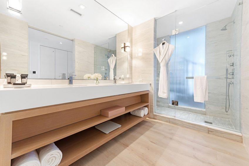 W South Beach Luxury Hotel - Miami Beach, FL, USA - Mega Bi Level Suite Bathroom