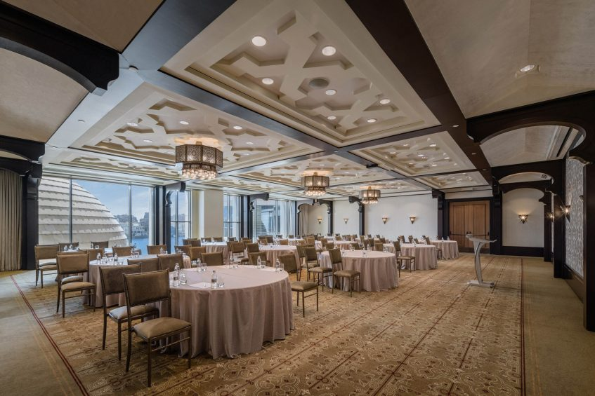 The St. Regis Cairo Luxury Hotel - Cairo, Egypt - Nile Amethyst Ballroom