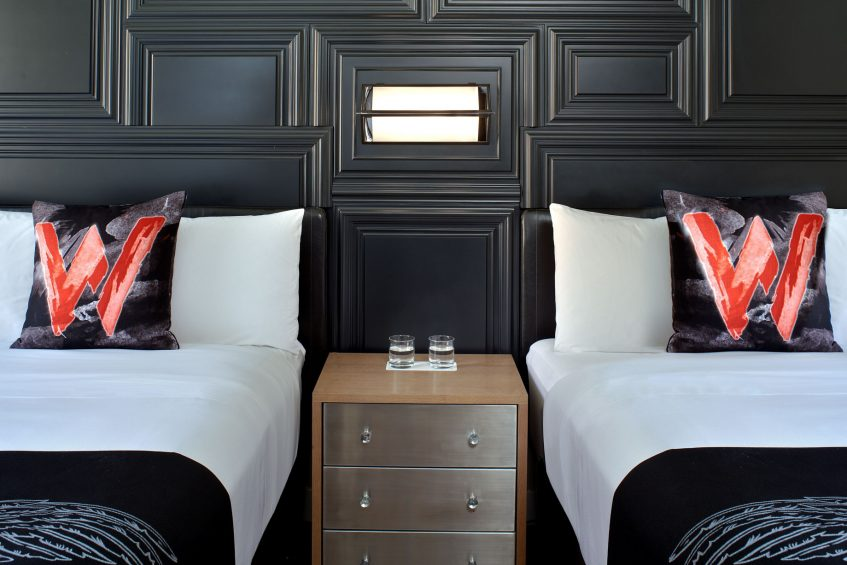 W Boston Luxury Hotel - Boston, MA, USA - Spectacular Guest Room Style