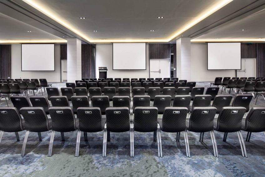 W Fort Lauderdale Luxury Hotel - Fort Lauderdale, FL, USA - Mingle Meeting Room Theater Setup