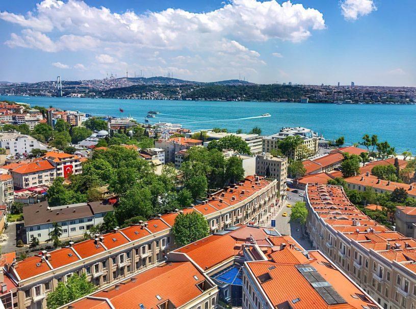 W Istanbul Luxury Hotel - Istanbul, Turkey - Aerial View