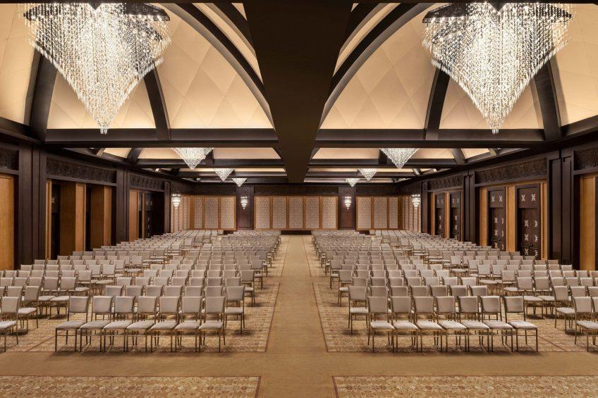 The St. Regis Cairo Luxury Hotel - Cairo, Egypt - Astor Grand Ballroom Seating