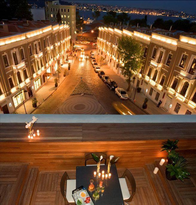 W Istanbul Luxury Hotel - Istanbul, Turkey - Night View
