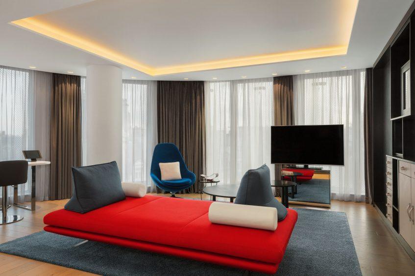 W London Luxury Hotel - London, United Kingdom - Supreme WOW Suite Living Room