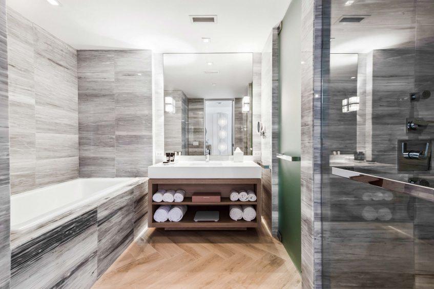 W South Beach Luxury Hotel - Miami Beach, FL, USA- Oasis Suite Bathroom