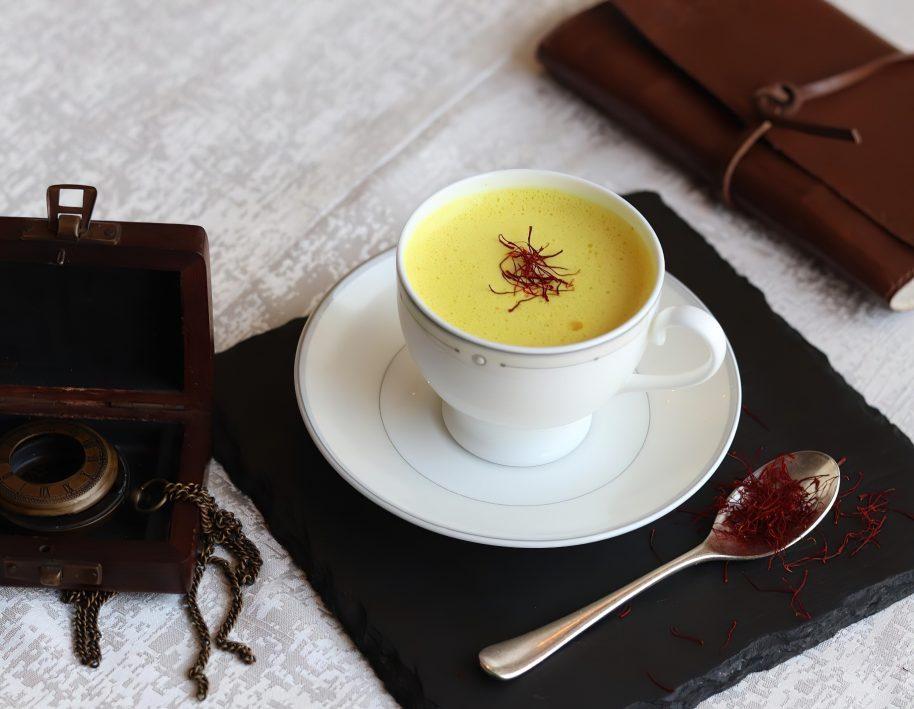 The St. Regis Mumbai Luxury Hotel - Mumbai, India - Saffron Cappuccino
