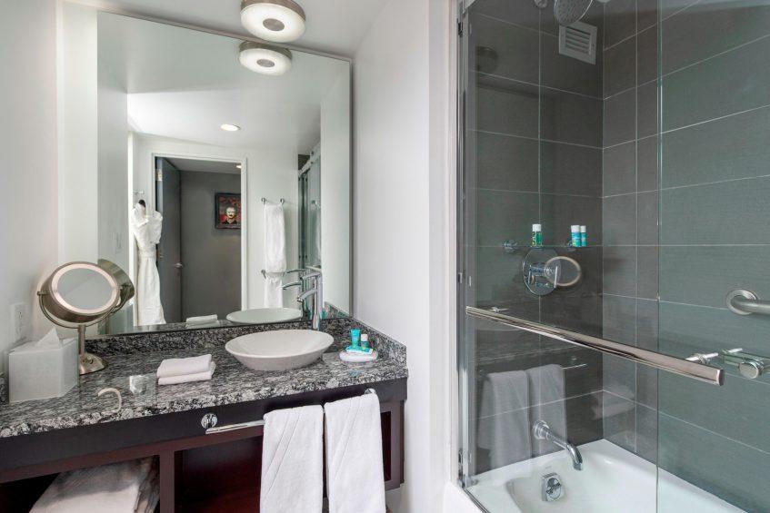 W Boston Luxury Hotel - Boston, MA, USA - Wonderful Guest Room Bathroom Vanity