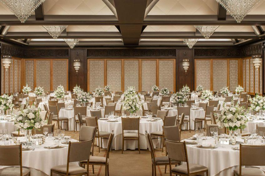 The St. Regis Cairo Luxury Hotel - Cairo, Egypt - Astor Grand Ballroom Tables
