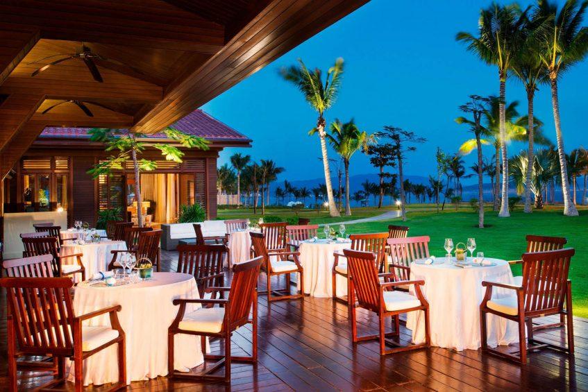 The St. Regis Sanya Yalong Bay Luxury Resort - Hainan, China - Driftwood Restaurant