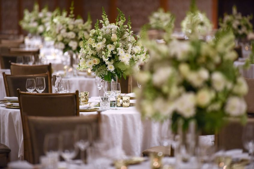 The St. Regis Cairo Luxury Hotel - Cairo, Egypt - Wedding Reception