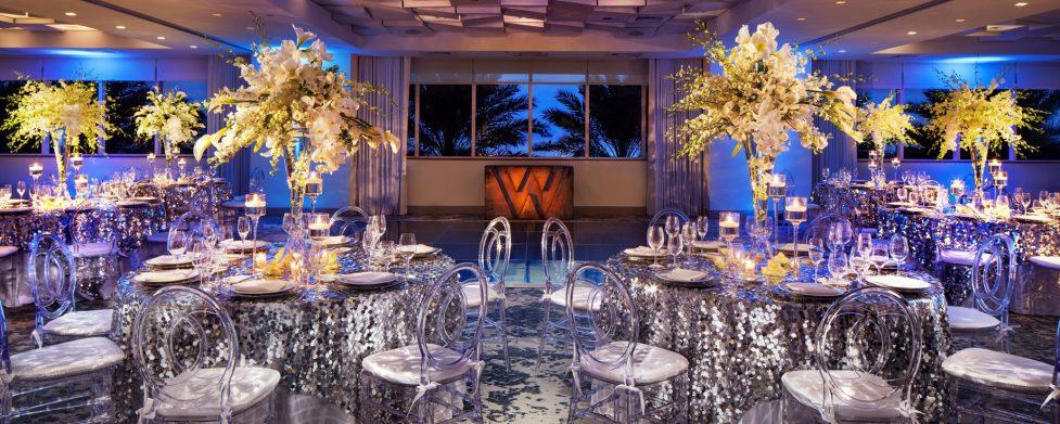 W Fort Lauderdale Luxury Hotel - Fort Lauderdale, FL, USA - Studio Social Setup