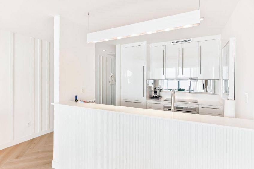 W South Beach Luxury Hotel - Miami Beach, FL, USA - Oasis Suite Kitchen
