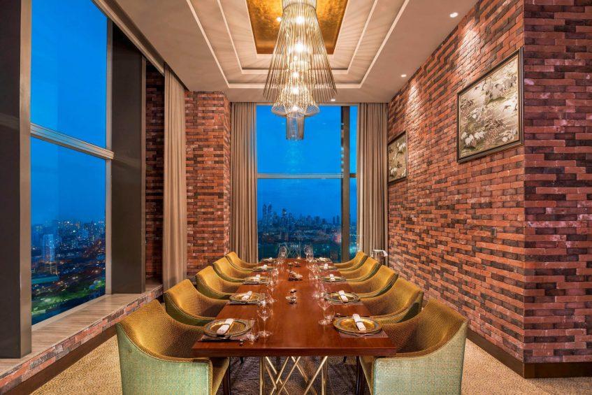 The St. Regis Mumbai Luxury Hotel - Mumbai, India - By the Mekong Private Dining Room