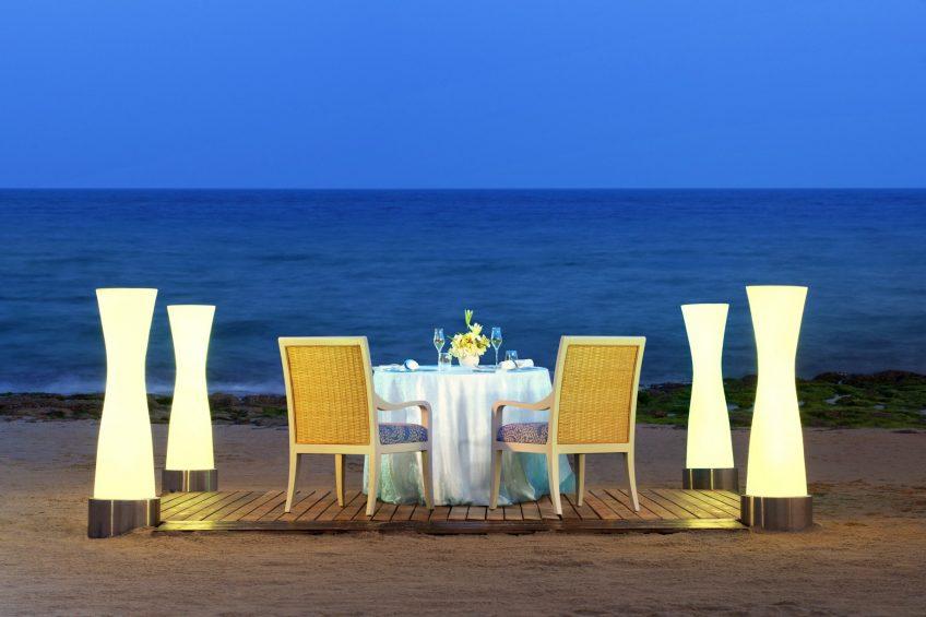 The St. Regis Sanya Yalong Bay Luxury Resort - Hainan, China - Romantic Dinner