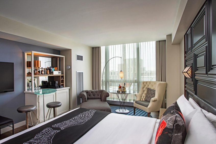 W Boston Luxury Hotel - Boston, MA, USA - Spectacular Guest Room