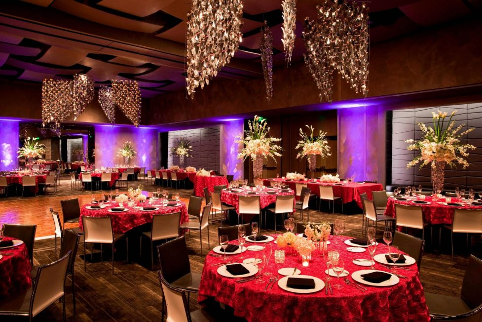 W Fort Lauderdale Luxury Hotel - Fort Lauderdale, FL, USA - Great Room Banquet Setup