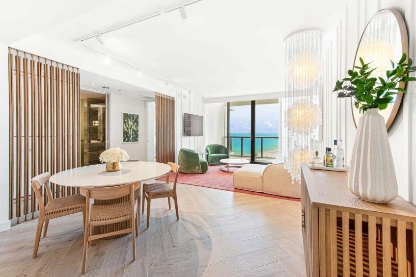 W South Beach Luxury Hotel - Miami Beach, FL, USA - Oasis Suite Bedroom