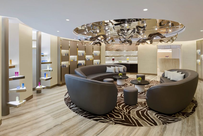 The St. Regis Cairo Luxury Hotel - Cairo, Egypt - Iridium Spa Reception