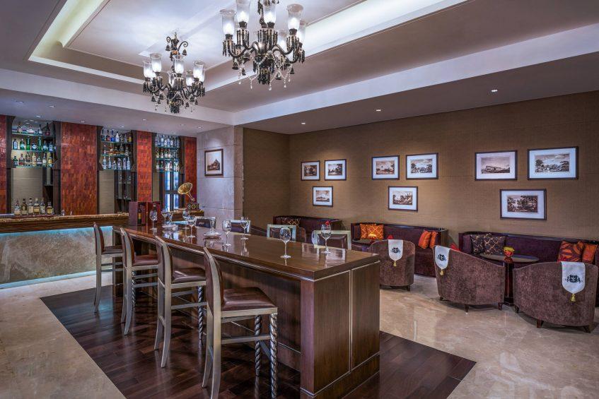 The St. Regis Mumbai Luxury Hotel - Mumbai, India - Kipling Bar Seating