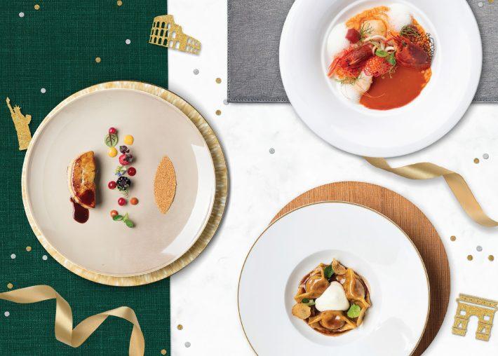The St. Regis Macao Luxury Hotel - Cotai, Macau SAR, China - Gourmet Cuisine Dishes