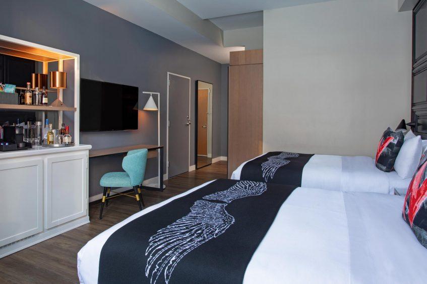 W Boston Luxury Hotel - Boston, MA, USA - Wonderful Guest Room Decor