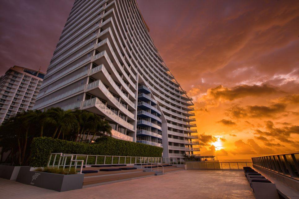 W Fort Lauderdale Luxury Hotel - Fort Lauderdale, FL, USA - Hotel Sunset