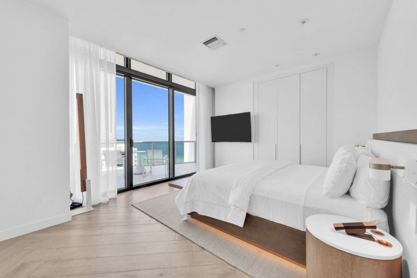 W South Beach Luxury Hotel - Miami Beach, FL, USA - Ocean View Penthouse Suite Second Bedroom