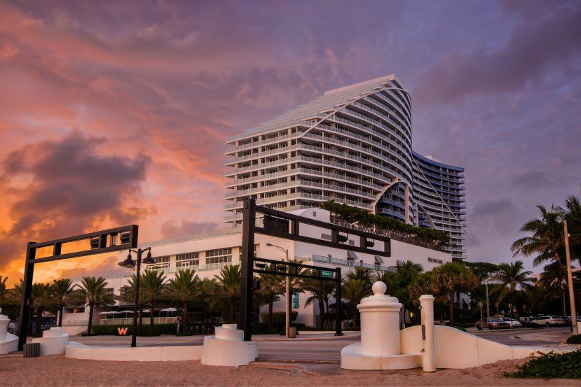 W Fort Lauderdale Luxury Hotel - Fort Lauderdale, FL, USA - W Hotel Sunset