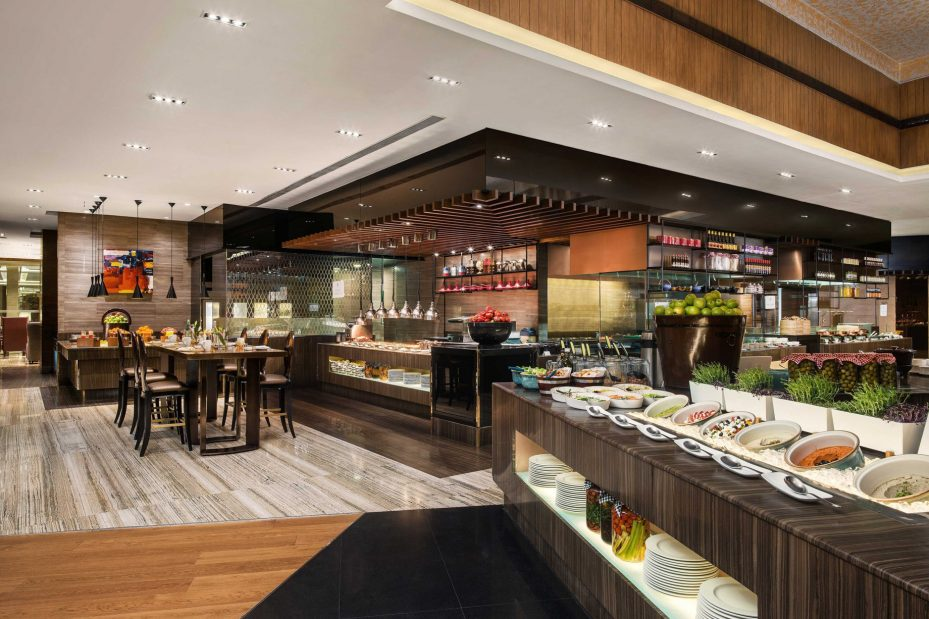 The St. Regis Mumbai Luxury Hotel - Mumbai, India - Seven Kitchens