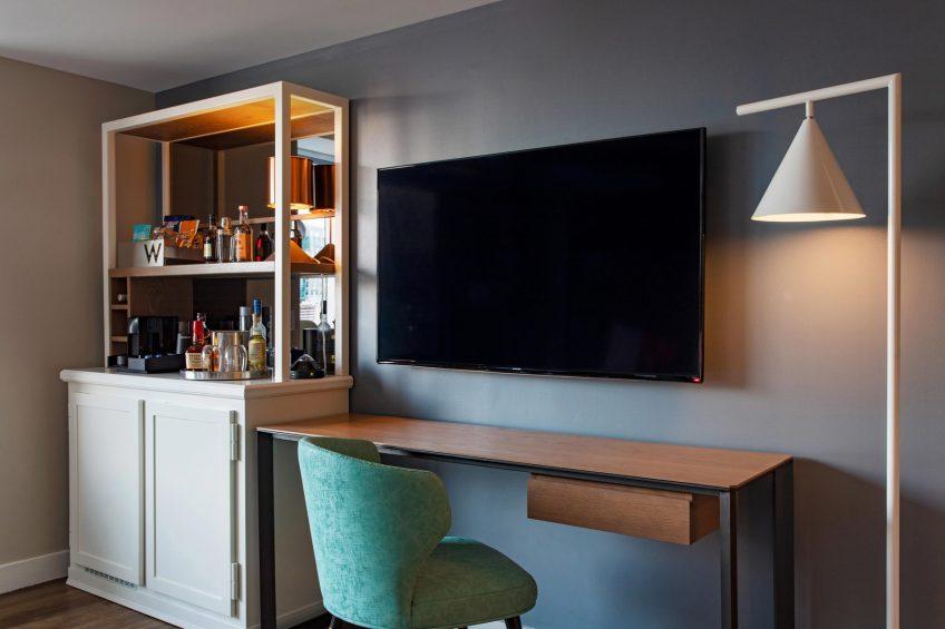 W Boston Luxury Hotel - Boston, MA, USA - Wonderful Guest Room Desk