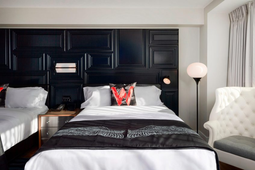 W Boston Luxury Hotel - Boston, MA, USA - Wonderful Guest Room Double Style
