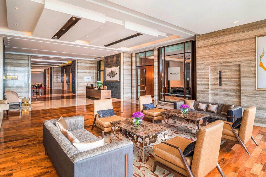 The St. Regis Mumbai Luxury Hotel - Mumbai, India - The Wellness Floor Lobby