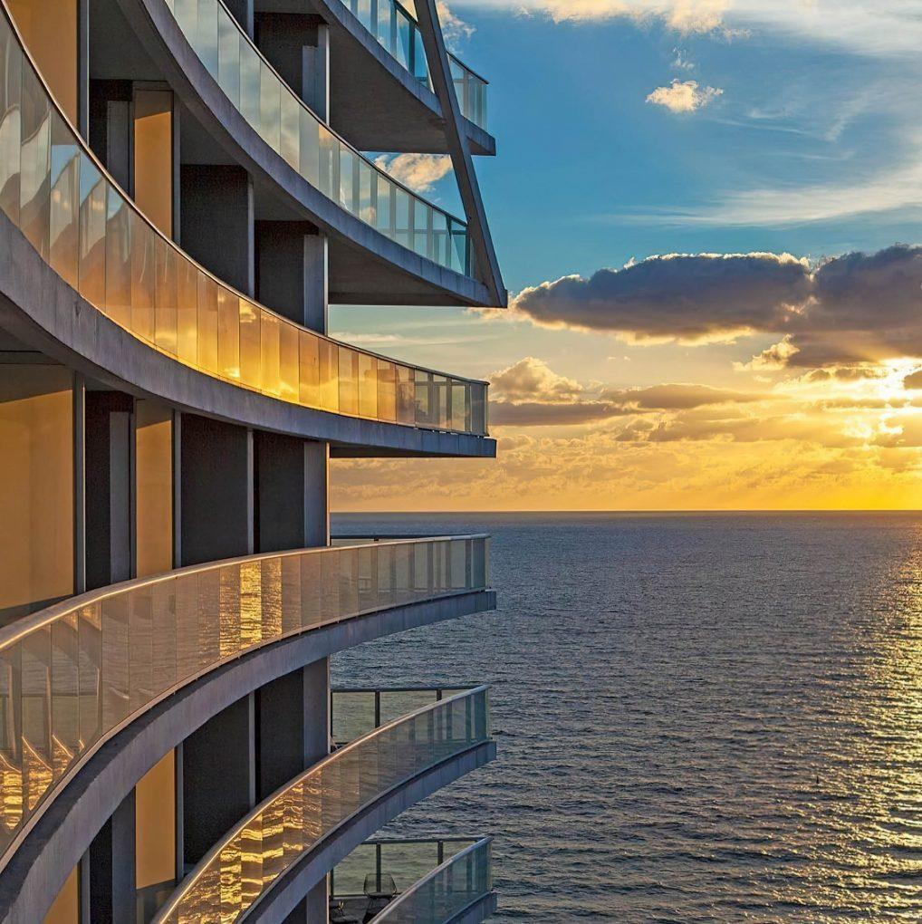 W Fort Lauderdale Luxury Hotel - Fort Lauderdale, FL, USA - Hotel Ocean View Sunset