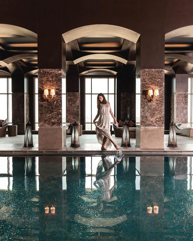 The St. Regis Cairo Luxury Hotel - Cairo, Egypt - Iridium Spa Pool Style