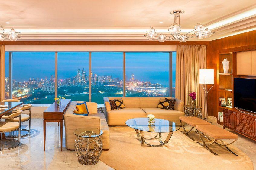 The St. Regis Mumbai Luxury Hotel - Mumbai, India - Residential Suite Living Room