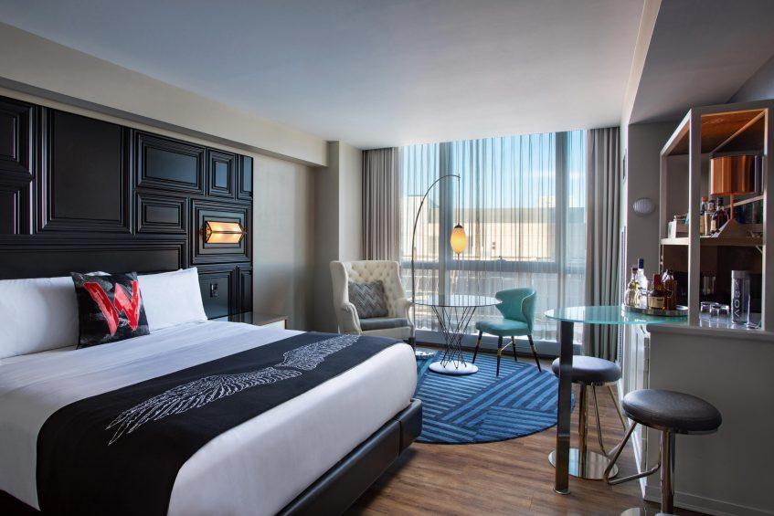 W Boston Luxury Hotel - Boston, MA, USA - Wonderful Guest Room Interior